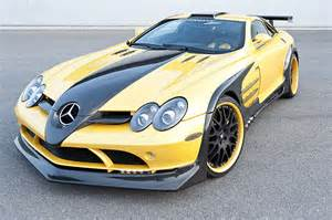 Mercedes Yellow Hamann Mercedes Slr Volcano Yellow Edition