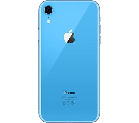 buy apple iphone xr 64 gb blue free delivery currys