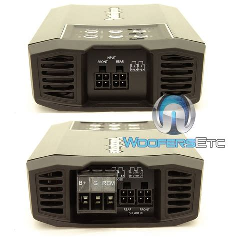 Small 4 Channel Home Lifier Rockford Fosgate T400x4ad Power 4 Channel 400 Watts Rms
