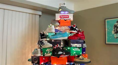 sneaker christmas tree sneakerfiles