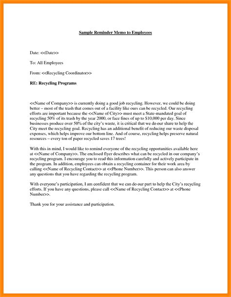 How To Write A Letter For An Employee 12 sle memo letter to employee musicre sumed