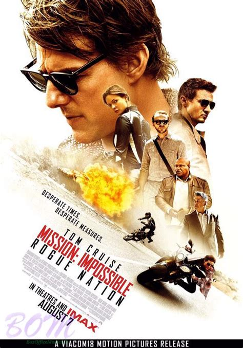 movies tom cruise full new poster of tom cruise starrer mission impossible rogue
