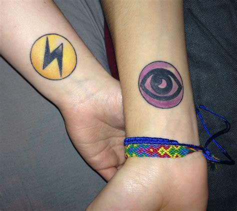 couple tattoo symbols energy symbol my boyfriend and