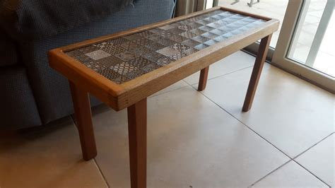 ceramic tile table top side table with ceramic tile top