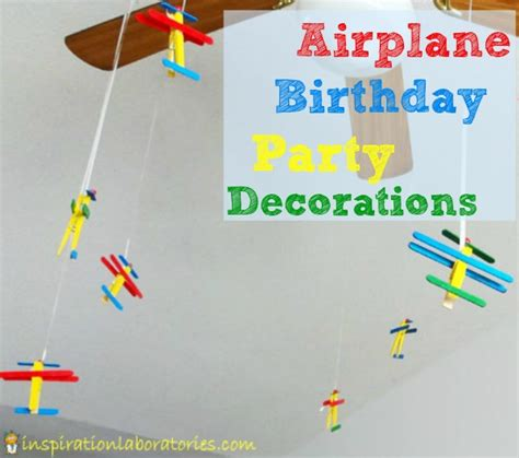 Airplane Decorations by Airplane Birthday Decorations Inspiration Laboratories