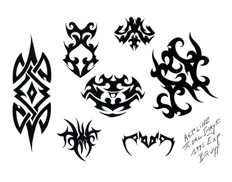 drawings of tribal tattoos tribal tattoos