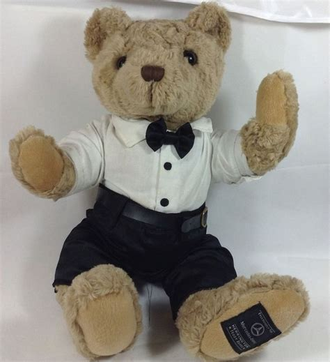 pictures of teddy bears in tuxedos mercedes benz teddy bear tuxedo 12 quot tux herrington plush