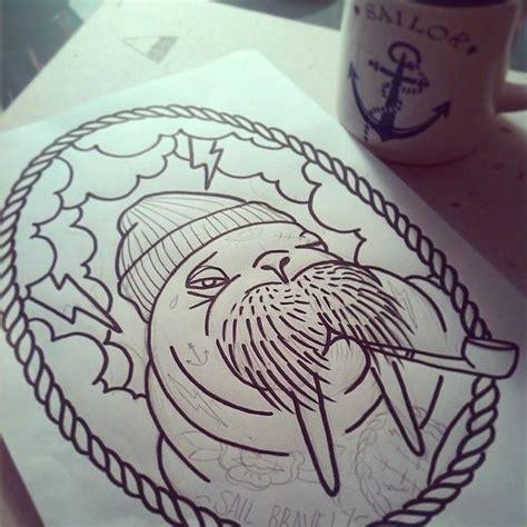 walrus tattoo 31 best projekter jeg vil pr 248 ve images on