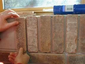 how to install interior brick veneer how tos diy