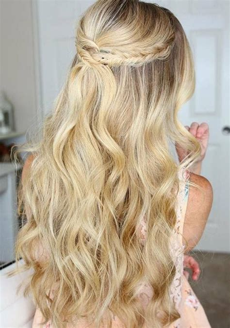 Hairstyles For School 2017 Curly Hair by 75 Trendy Wedding Prom Hairstyles To Try In 2017