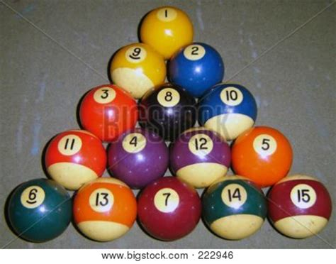 How Do U Rack Pool Balls by Picture Or Photo Of The Correct Racking Order For 8 Pool