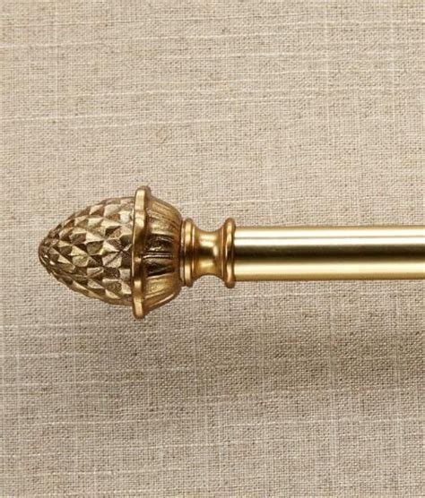 pineapple curtain rod finial 10 ideas about curtain rod finials on pinterest finials