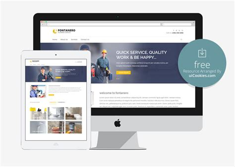 10 Free Bootstrap Construction Company Website Templates 2018 And Gas Company Website Template