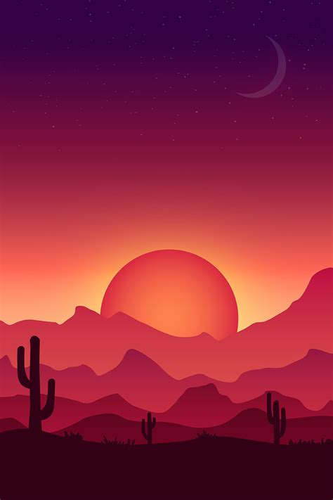 Landscape Illustration How To Create A Colorful Vector Landscape Illustration