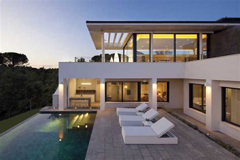 villa home pga catalunya villas new catalan houses e architect