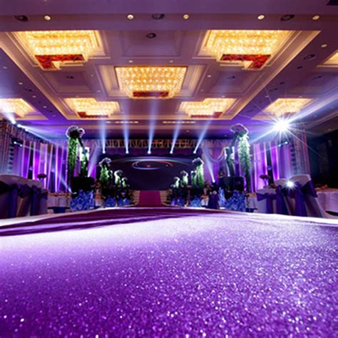 Wedding Aisle Material by ᑎ Wedding Glitter Carpets ᗗ Decoration Mariage Shiny