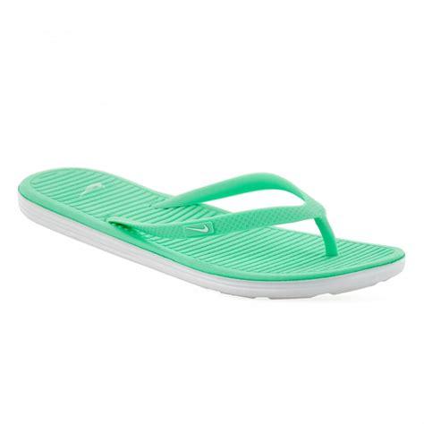 nike soft sandals nike womens solar soft 116 flip flops hyper