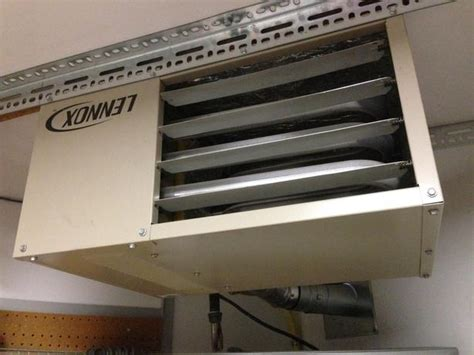 Lennox Garage Heater by Lennox 45 000 Btuh Garage Heater East
