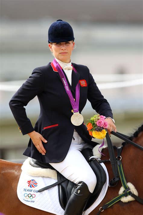 zara phillips pregnant equestrian expecting  child