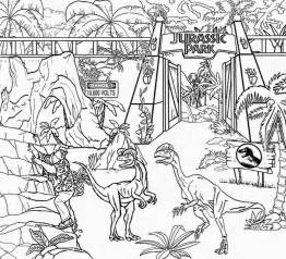 animal printable jurassic park rex coloring pages coloring tone