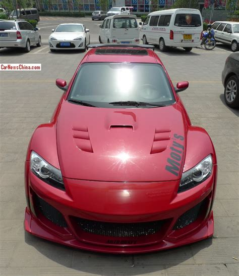 rx8 dealership mazda rx8 is a scary red japanese monster in china