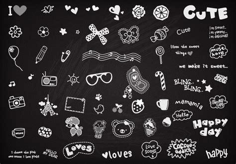 doodle brushes 27 photoshop doodle brushes for photoshop gimp