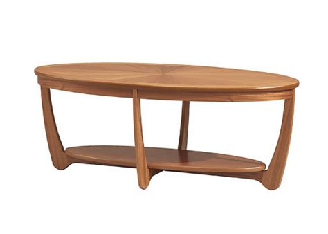 Table L Shades Only by Nathan Shades Oval Coffee Table