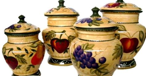 decorative canisters kitchen decorative canister sets kitchen home decor tuscany