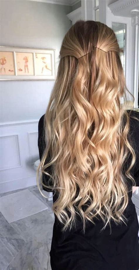hair for slightly curly hair 20 haircuts for showing off long wavy hair 2018