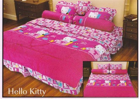 Sprei Hello Sprei Belladona Hello Toko Bed Cover Murah