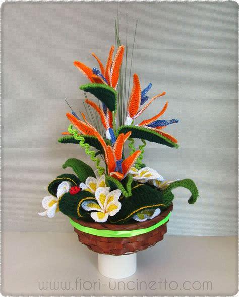 fiori sterlizie fiori all uncinetto crochet flowers sterlizia plumeria