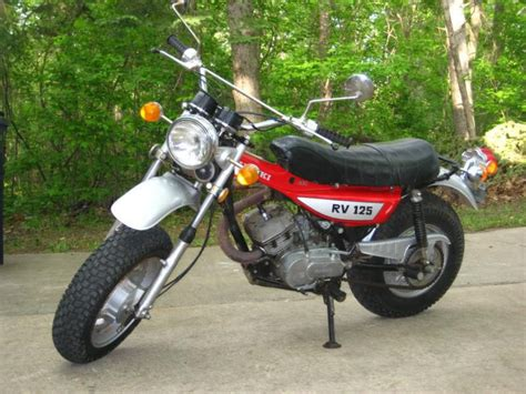 Suzuki Rv125 Beautiful Vintage 1973 Suzuki Rv125 2 For Sale On 2040 Motos