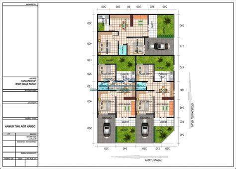 beragam contoh denah rumah minimalis dengan 3 kamar tidur rumah idaman