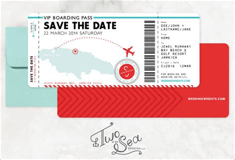 save the date boarding pass template boarding pass invitation templates free psd format