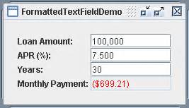 textbox in java swing make custom input text formatter in java formatted