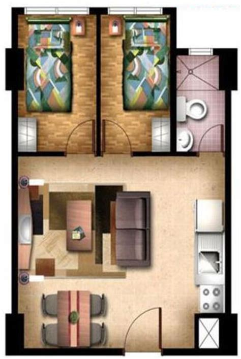 2 bedroom unit floor plans condo sale at san lorenzo place condos floor plans