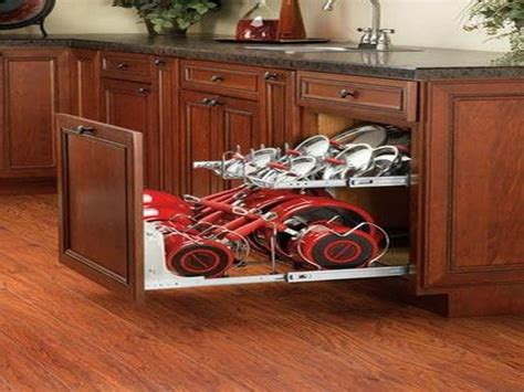 corner kitchen cabinet storage ideas kitchen pot organizer corner cabinet storage ideas