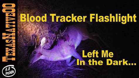 what do black lights detect blood tracker led light for hunting does it work