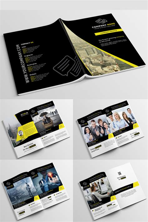 Company Profile Psd Corporate Identity Template 68137 Corporate Template