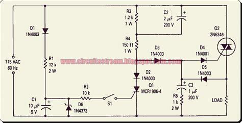 triac diagram build a triac 0 point switch circuit diagram electronic