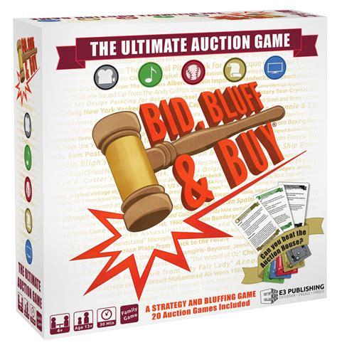 bid and buy new tabletop bid bluff buy the insider