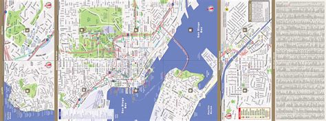 streetsmart sf san francisco map by vandam laminated city pocket map with all attractions museums hotels and bay area transit information bart muni and caltrain 2018 edition map books san diego map by vandam san diego streetsmart map city