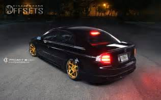 wheel offset 2005 acura tl tucked bagged custom rims