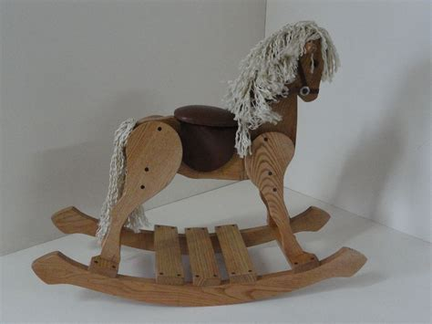 Handmade Rocking Horses - handmade childs rocking by woodmade custommade