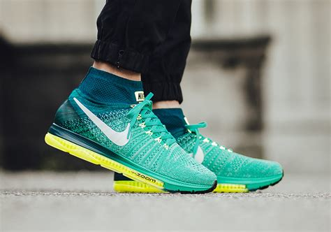 Sepatu Running Nike Fly Zoom Blue List Green nike zoom all out flyknit s running shoes