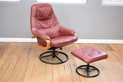 chairworks recliner a chairworks leather recliner with matching footstool