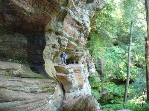 rock house hocking hills view from inside rock house picture of hocking hills state park logan tripadvisor