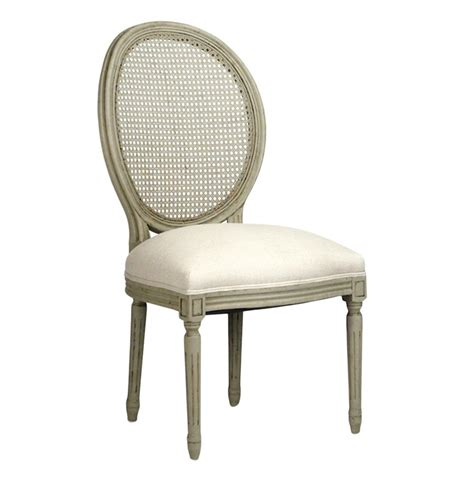 Oval Dining Chairs Pair Madeleine Country Oval Caned Olive Dining Chair