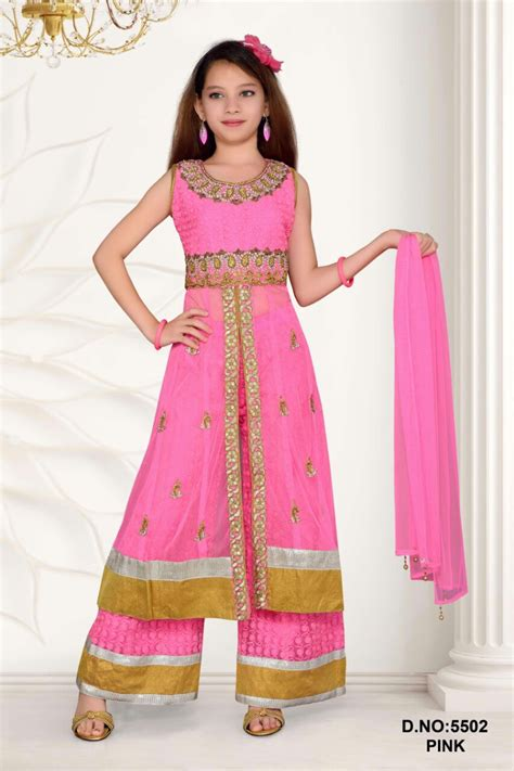 karachi suits with plazo pakistani plazo style long suits for girls buy pakistani