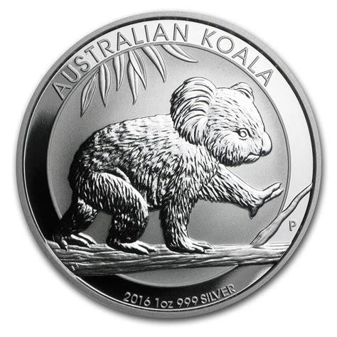 1 Oz Silver Koala Coin - 2016 australia 1 oz silver koala bu 2016 perth mint